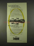 1974 Leupold Scope and Mounts Ad - Golden Ring