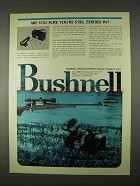 1974 Bushnell Portable Pocket Bore Sighter Ad