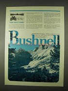 1974 Bushnell Optics Ad - Wide Angle Combo