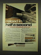 1974 Browning 2000 Gas Auto Shotgun Ad - Reload