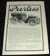 1903 Peerless Car Ad, Design, Style & Ease!!
