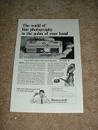 1966 Rollei 16 Camera Ad, World in the Palm of Hand!!