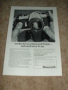 1969 Honeywell Pentax Spotmatic Camera Ad!!!