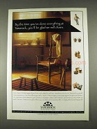 1996 Tamarack West Virginia Tourism Ad - We Sell Chairs