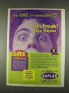 1996 Kaplan Test Preperation Ad - GRE on Computer?