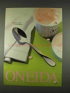 1996 Oneida Golden Aquarius Spoon Ad - With Dignity