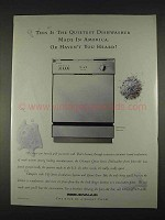1996 Jenn-Air DW860UQ Dishwasher Ad - The Quietest