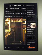 1996 Amana Refrigerator Ad - Have This Vague Feeling