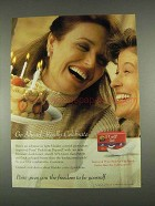 1996 Poise Pads Ad - Go Ahead Really Celebrate