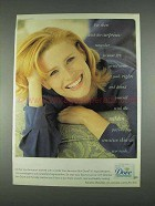 1996 Dove Soap Ad - For Skin With No Surprises