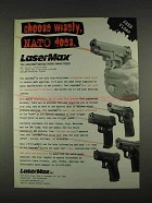 1996 LaserMax Spring Guide Laser Sight Ad - NATO