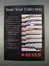 1996 Ruger Rifles Ad - Start Your Collection