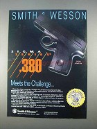 1996 Smith & Wesson Sigma SW380 Pistol Ad