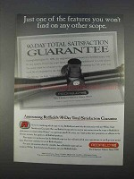 1996 Redfield Scopes Ad - One of the Features