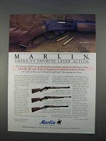 1996 Marlin Model 336CS, 1895SS, and 1894S Rifles Ad
