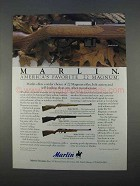 1996 Marlin Model 922M, 883S, 882SS and 922M Rifles Ad