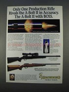 1996 Browning A-Bolt II Composite Stalker Rifle Ad