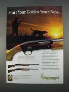 1996 Browning Gold Hunter Shotgun Ad - Start Now