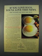 1996 American Egg Board Ad - You'll Love This News