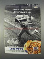 1996 Dinty Moore Beef Stew Ad - Rain With Sleet