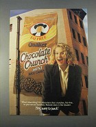 1996 Quaker Chocolate Chrunch Mini Rice Cakes Ad