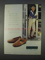 1996 Naturalizer Plush and Zeus Shoes Ad