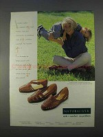 1996 Naturalizer Shoes Ad - Shawnee, Shamrock, Seminole