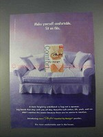 1996 Playtex Comfort by Design Panties Ad - Sit on This