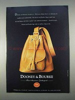 1996 Dooney & Bourke Sling Bag Ad
