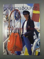 1996 Dooney & Bourke Bag Ad