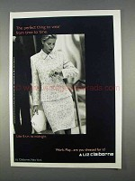 1996 Liz Claiborne Fashion Ad - Perfect Thing to Wear