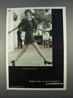 1996 Liz Claiborne Fashion Ad - Spring Forward