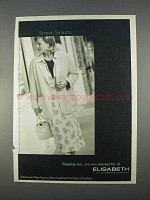 1996 Elisabeth by Liz Claiborne Fashion Ad - Smart