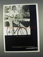 1996 Liz Claiborne Fashion Ad - Life Too Short to Iron