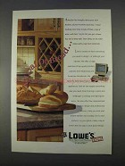 1996 Lowe's Home Improvement Ad - A Loaf of Bread