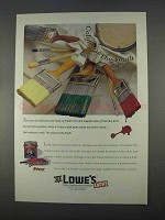 1996 Lowe's Valspar Southern Heritage Paint Ad - Colors of South