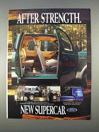1997 Ford F150 SuperCab Pickup Truck Ad - Strength