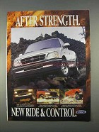 1997 Ford F150 Pickup Truck Ad - Ride & Control