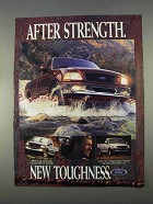 1997 Ford F150 Pickup Truck Ad - New Toughness
