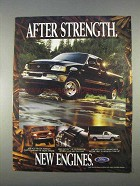 1997 Ford F150 Pickup Truck Ad - New Engines
