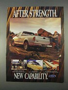 1997 Ford F150 Pickup Truck Ad - New Capability