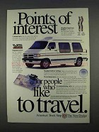 1996 Dodge Ram Van Ad - Points of Interest
