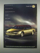1996 Chrysler LHS Car Ad - Two Things At Once?
