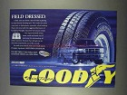 1996 Goodyear Wrangler Aquatred Tires Ad - Field