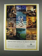 1996 Renaissance Hotels and Resorts Ad - The Mark