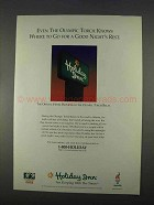 1996 Holiday Inn Ad - Even the Olympic Torch Knows