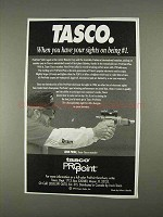 1996 Tasco ProPoint Scope Ad - Sights on Being #1