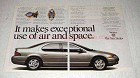 1996 Dodge Stratus Car Ad - Use of Air and Space