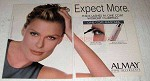 1996 Almay One Coat Mascara Ad - Vendela Kirsebom