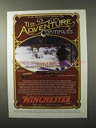 1995 Winchester Model 1300 Shotgun Ad - Adventure
